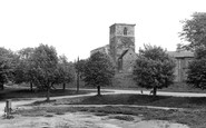 Barton Upon Humber, St Peter's Church c.1960