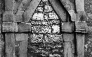 Barton Upon Humber, St Peter's Church, The Saxon Doorway c.1960