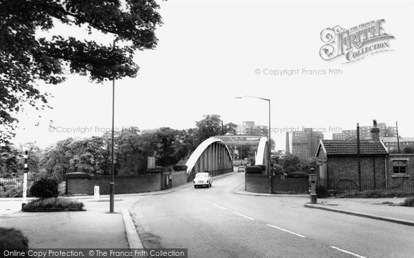 Barton Upon Irwell, Barton Road Bridge c.1965