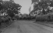 Bashall Eaves, Main Road c.1955