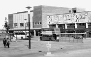 Basildon, Blenheim House And The Bus Terminus 1961