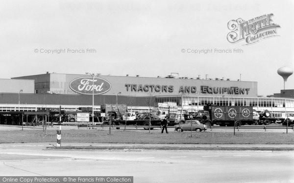 Basildon, Industrial Estate c.1965