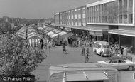 Basildon, Market Place 1961