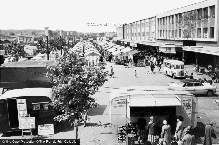 Basildon, Market Place c.1960