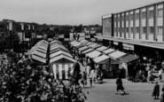 Basildon, Market Stalls 1961