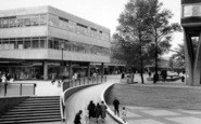 Basildon, New Town, Town Square c.1960