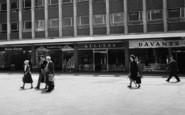 Basildon, People At Town Square c.1960