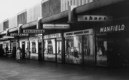 Basildon, Row Of Shops, Town Square c.1965