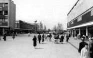 Basildon, Town Square And Clock c.1960
