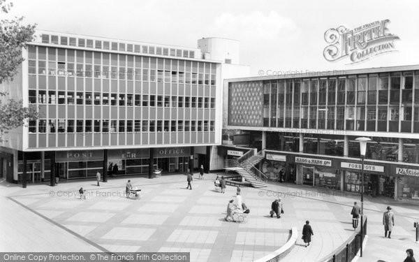 Basildon, Town Square c.1965