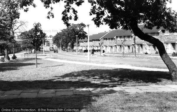 Photo of Basildon, Whitmore Way 1961