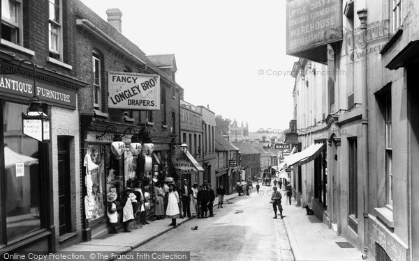 Basingstoke, Church Street 1904