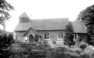 Basingstoke, Eastrop Church 1898