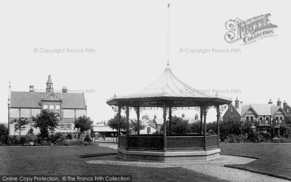 Basingstoke, Fairfields Recreation Ground, The Bandstand 1898