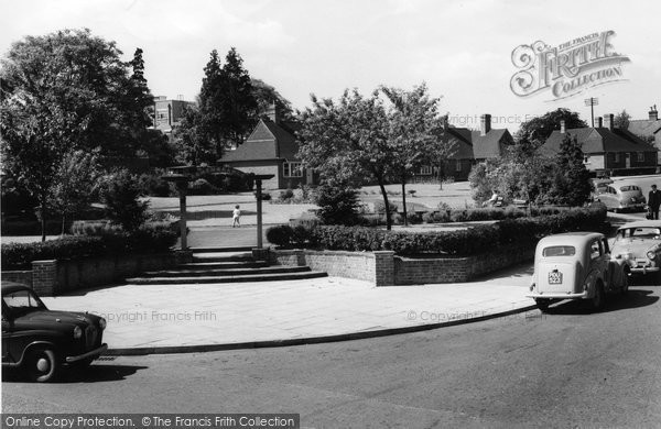 Basingstoke, Gardens Of Remembrance c.1960