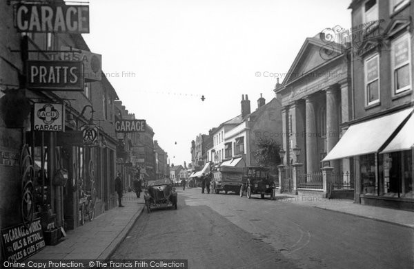 Basingstoke, London Street c.1930