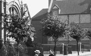 Basingstoke, Men Talking In Council Road 1898