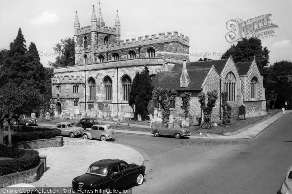 Photo of Basingstoke, St Michael's Church c1960