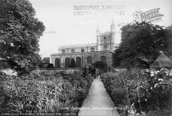 Basingstoke, St Michael's Parish Church North Side 1898