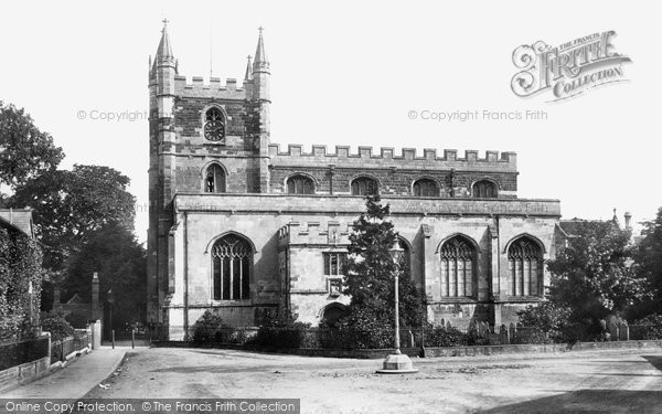 Basingstoke, St Michael's Parish Church, South Side 1898
