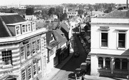 Basingstoke, View Down Church Street c.1960