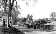 Baslow, Nether End c.1955