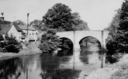 Baslow, The Toll Bridge c.1955