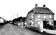 Bason Bridge, Inn And Main Road c.1955