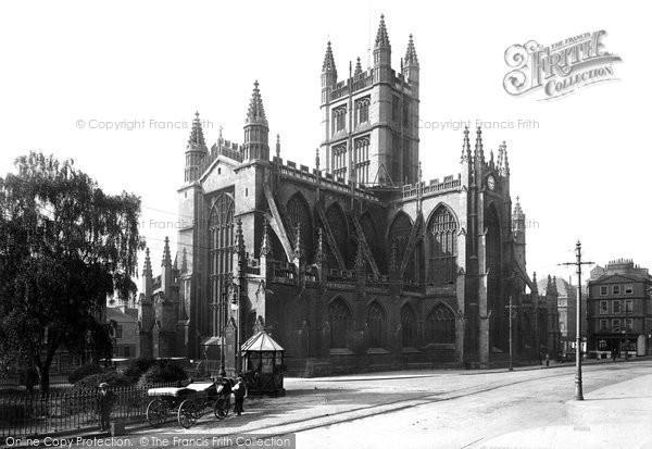 Bath, Abbey 1911