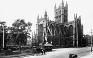 Bath, Abbey 1925