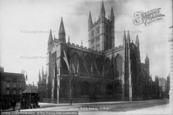 Bath, Abbey North East 1902