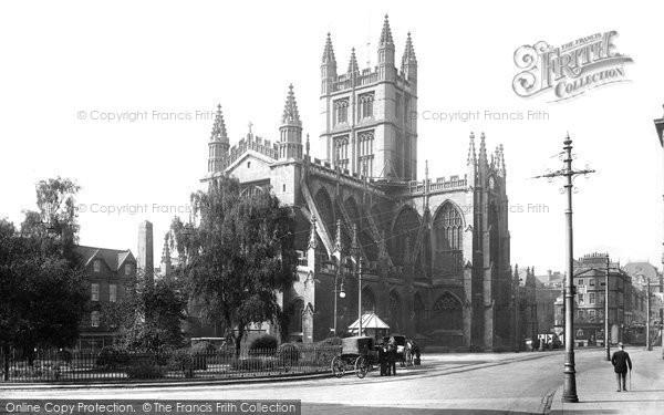 Bath, Abbey, North East 1911
