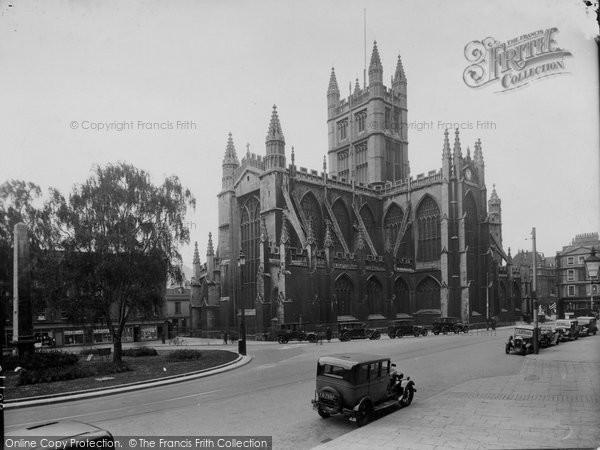 Bath, Abbey North East 1935
