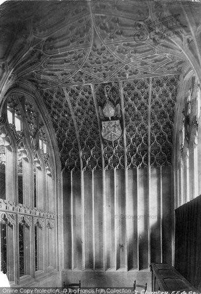 Bath, Abbey, Prior Birde's Chantry 1901