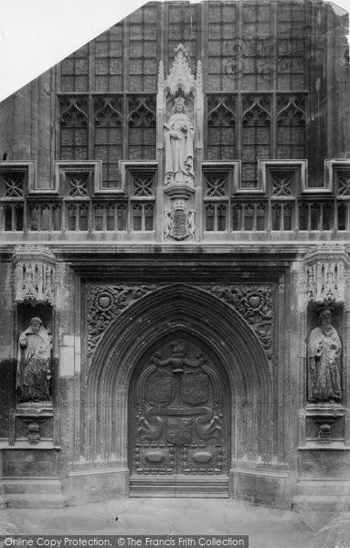 Bath, Abbey West Door 1901