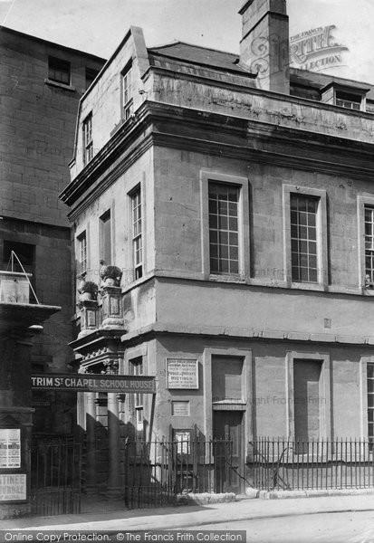 Bath, Beau Nash House 1911