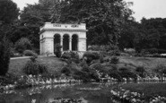 Bath, Botanical Gardens, Temple Of Minerva 1929