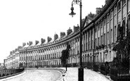 Bath, Camden Crescent 1907