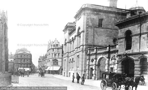 Bath, Cheap Street From Orange Grove 1895