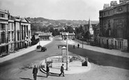Bath, Cleveland Place And Bridge 1929