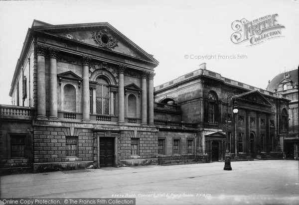 Bath, Concert Hall And Pump Room 1901