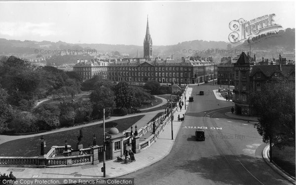 Bath, From Empire Hotel 1935