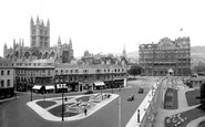 Bath, From Grosvenor Hotel 1935