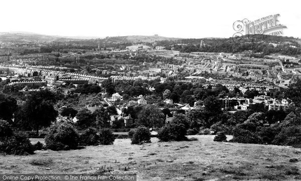 Bath, From Rainbow Woods 1929