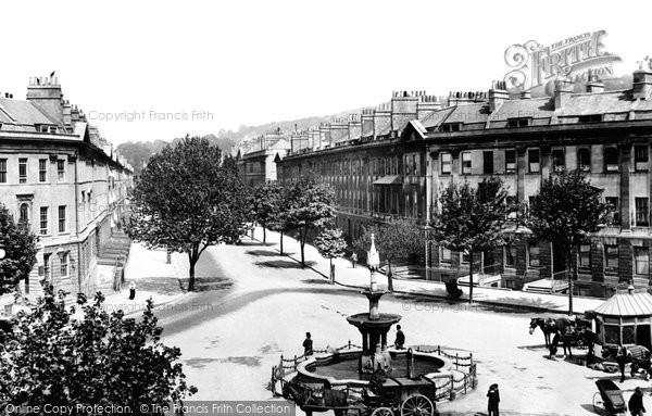 Bath, Great Pulteney Street 1901