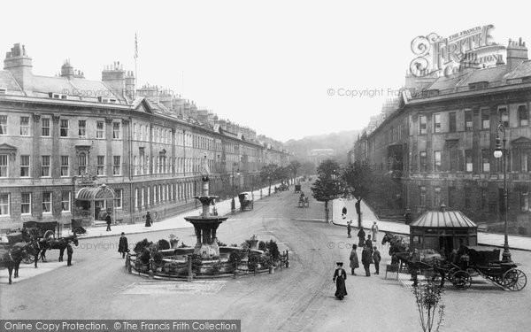 Bath, Great Pulteney Street 1907