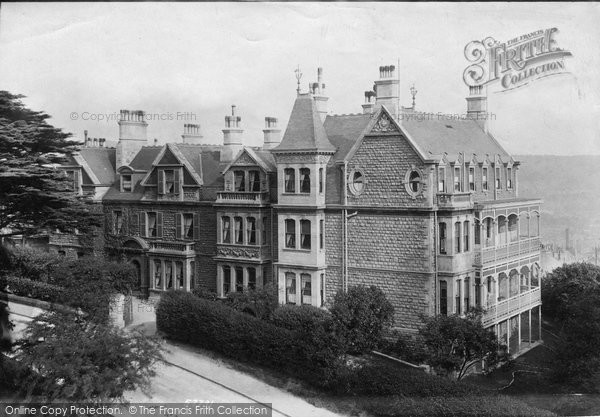 Bath, Lansdown Grove House 1907