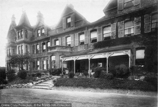 Bath, Lansdown Grove House 1907