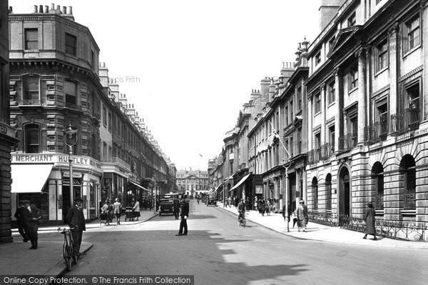 Bath, Milsom Street 1925