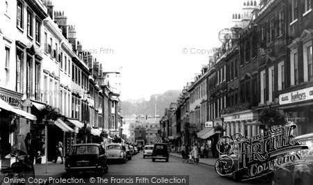 Bath, Milsom Street c.1965